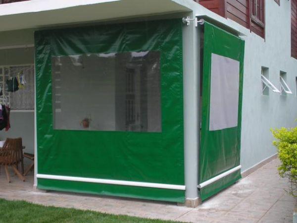 Cortina com lona transparente b10 comunica o visual 71 - Cortinas de loneta ...